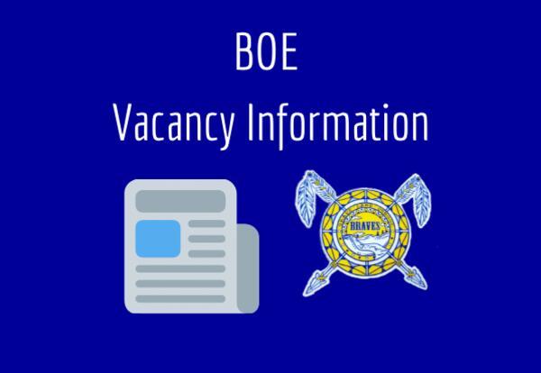 BOE Vacancy Information