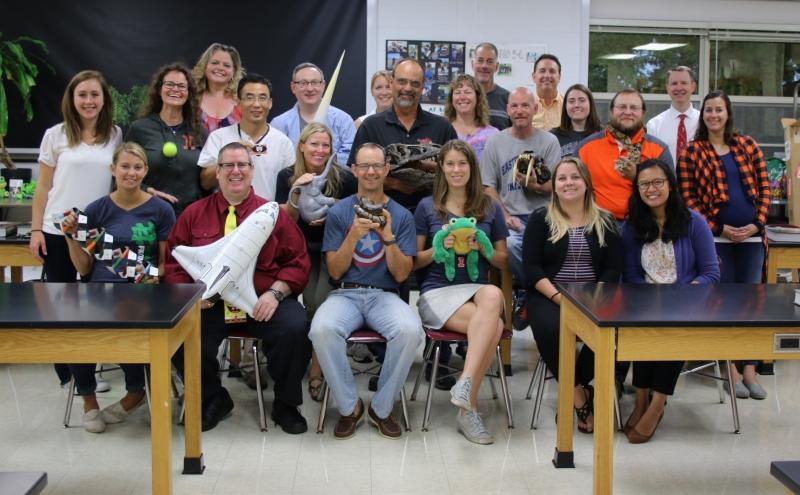 LHS Science Department staff
