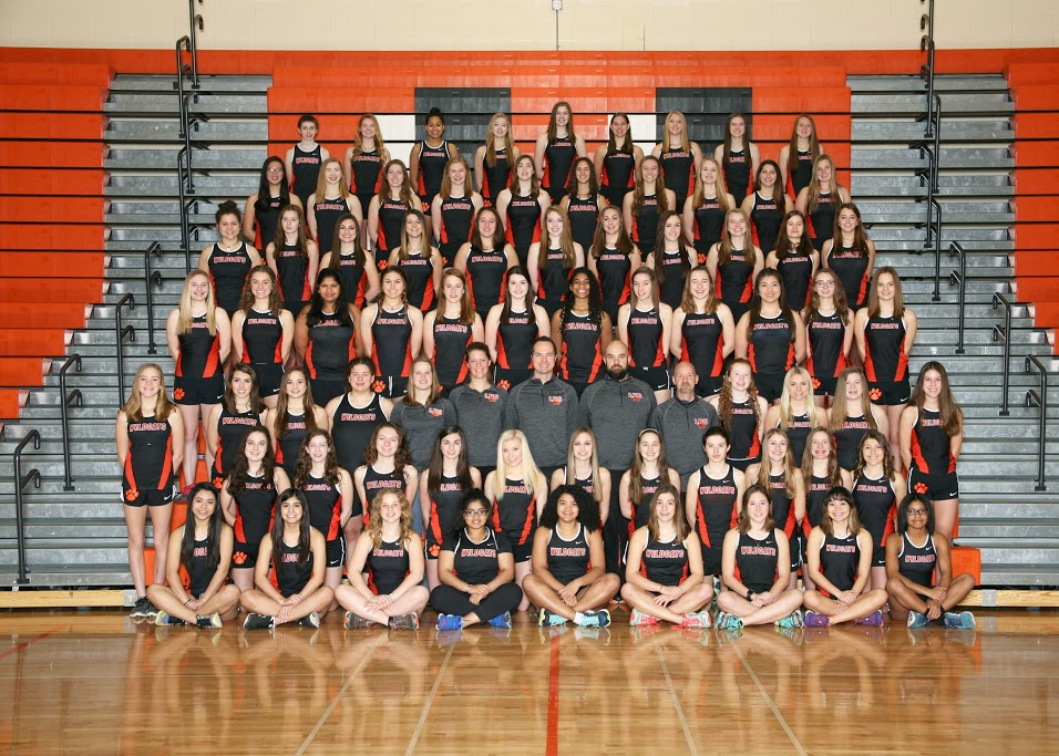 Girls' track and field team