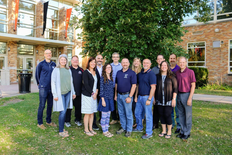 Fine Arts Department Staff Group Photo Fall 2017