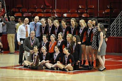 2012 Girl's Volleyball Team takes 4th Place in State Finals