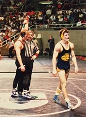 1988 Most Exciting Wrestler Brian Paramski