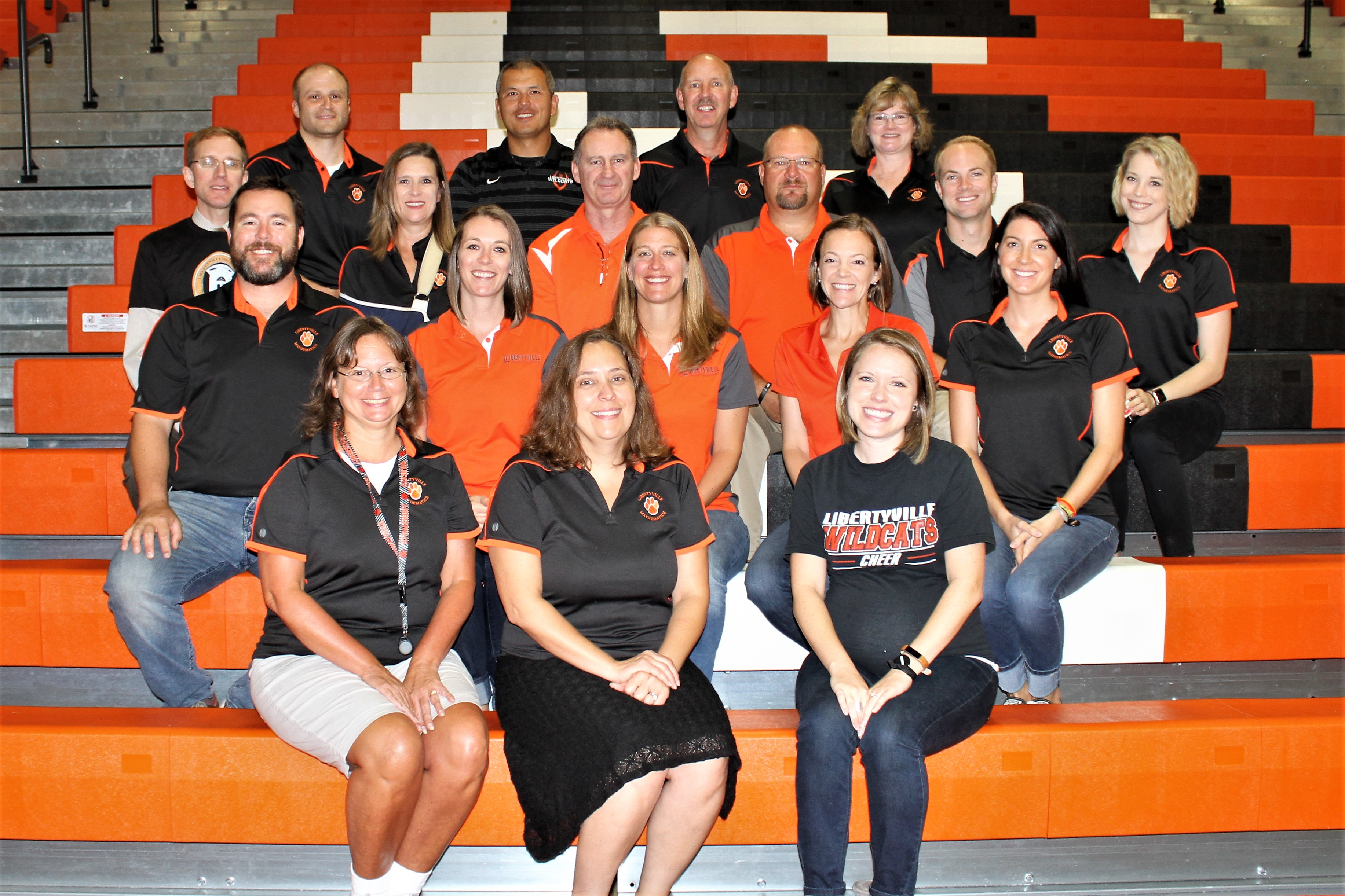 LHS Math Department staff