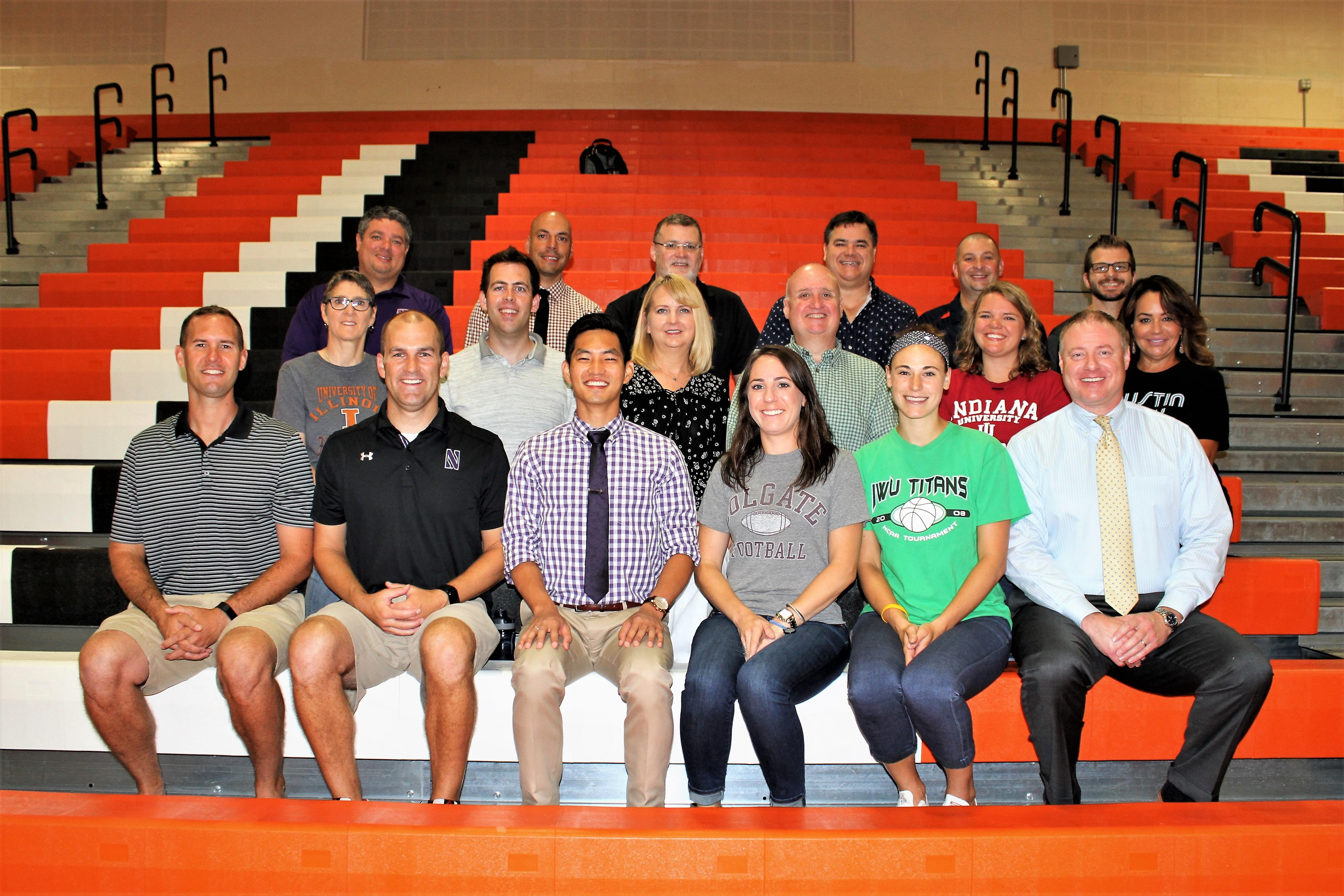 LHS Social Studies Department staff