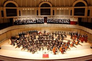 LHS Choirs at Symphony Center in Chicago