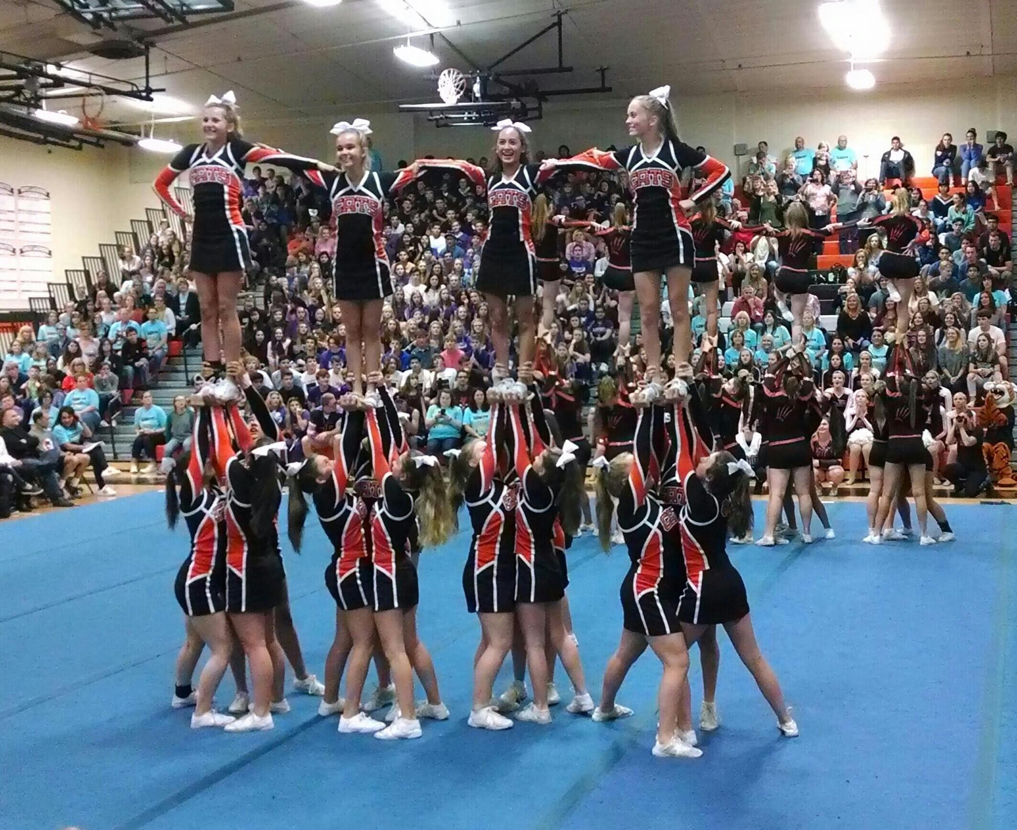 JV Homecoming Pyramid