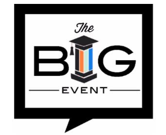 Logo for the Foundation for Learning's fundraiser THE BIG EVENT