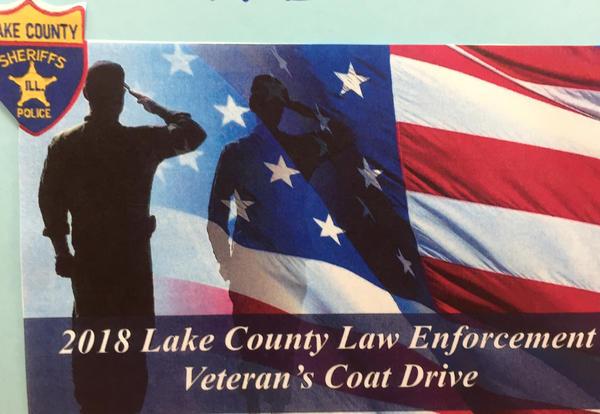 2018 Lake County Law Enforcement Veteran's Coat & Clothing Drive