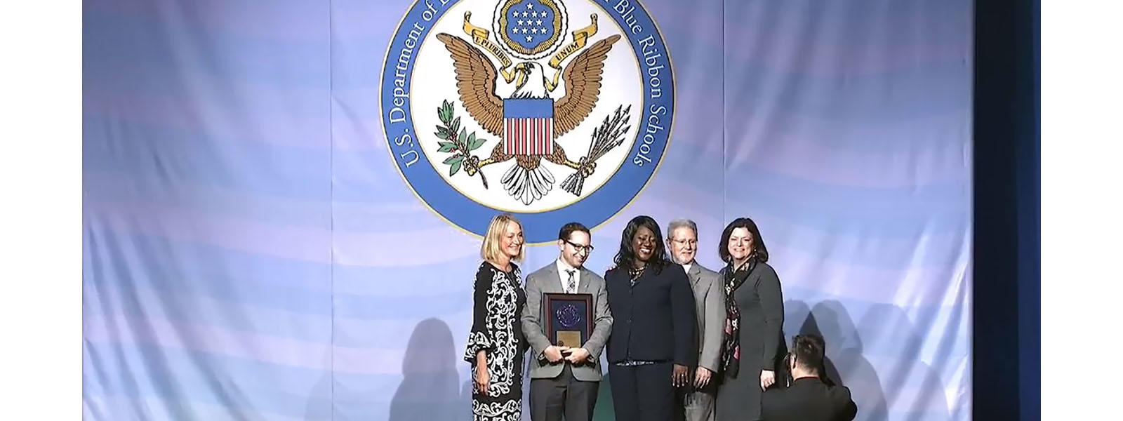 LHS honored as National Blue Ribbon School