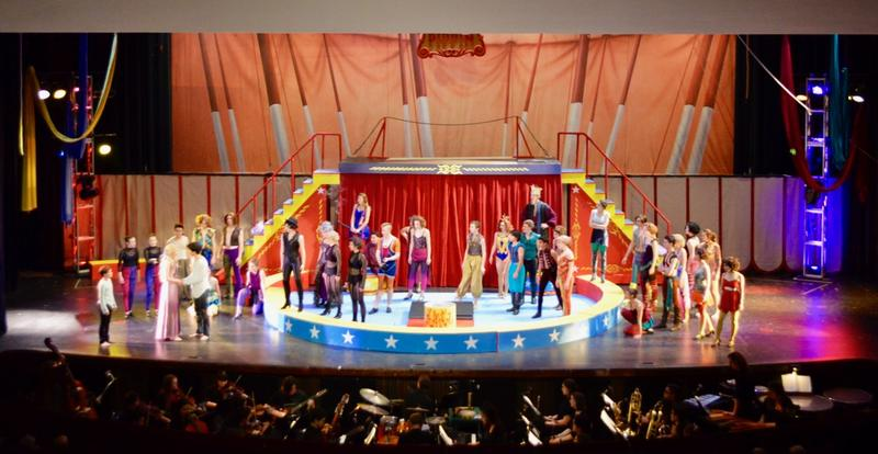 Opening Scene of the Circus for PIPPIN