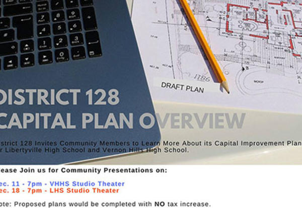 D128 Residents Invited to Learn More About Capital Plans at Community Presentations