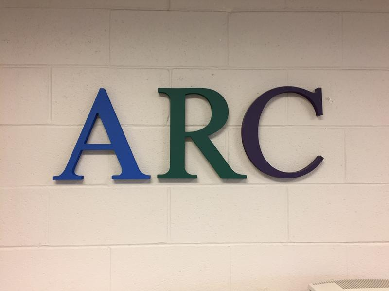 Letters spell A-R-C