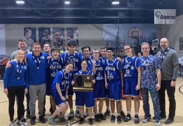 D128 Special Olympics Unified Basketball Team