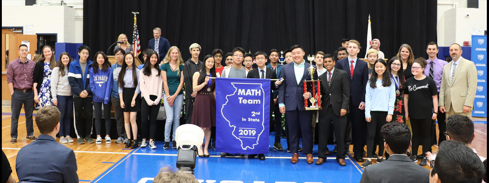 VHHS Math Team 2nd in State