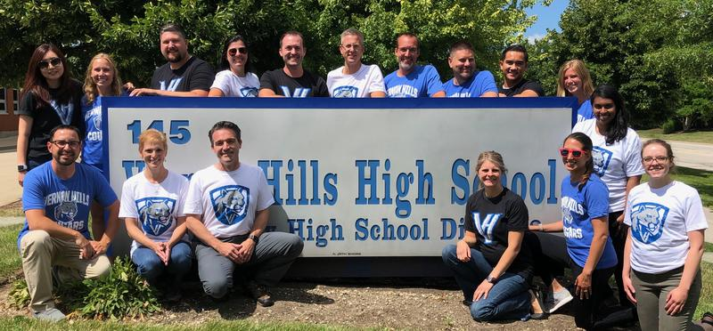 VHHS Science Department logo