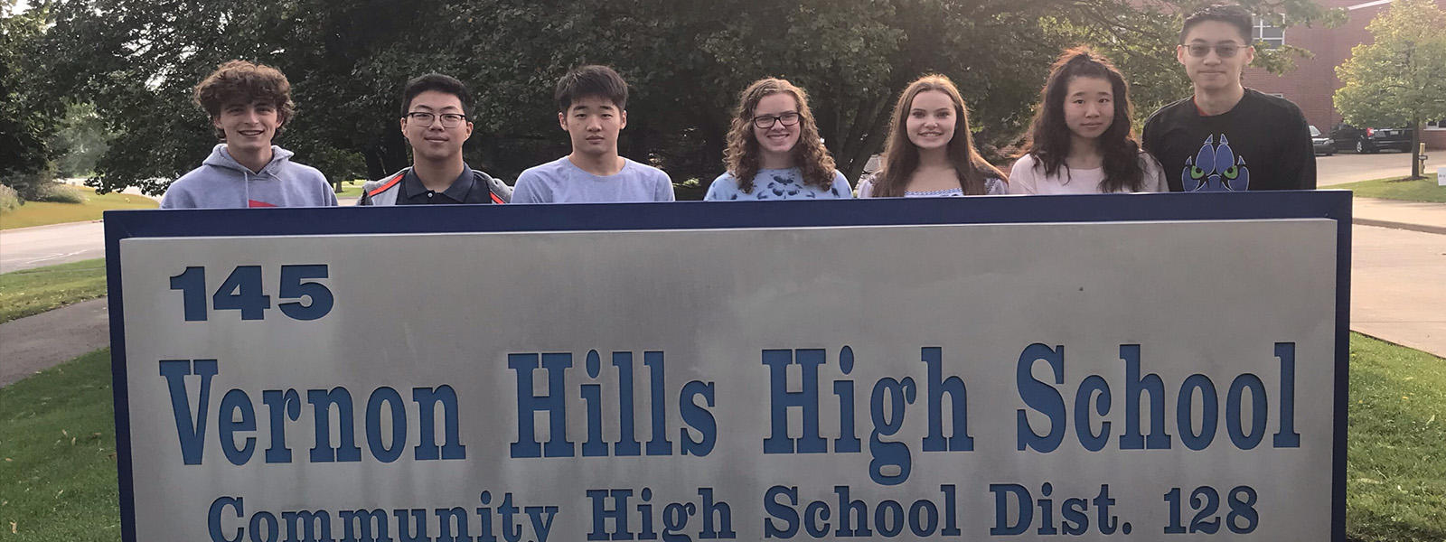 VHHS National Merit Semifinalists