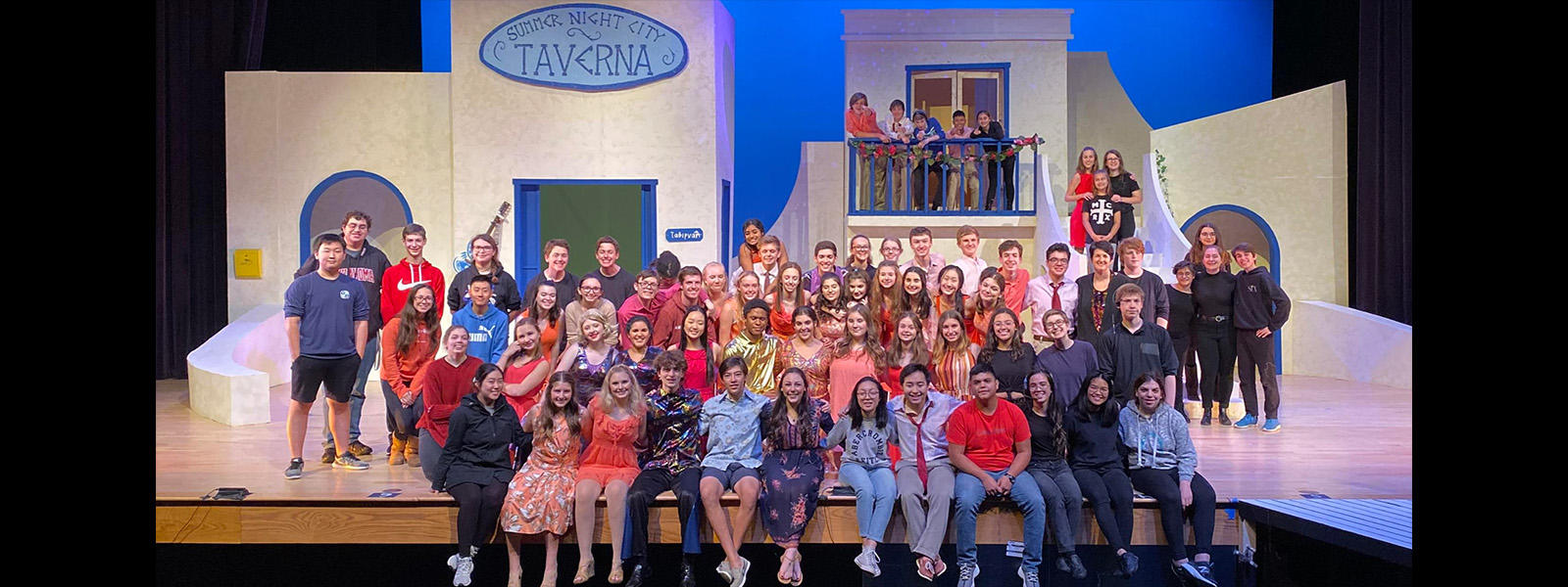 VHHS Cast & Crew of Mamma Mia