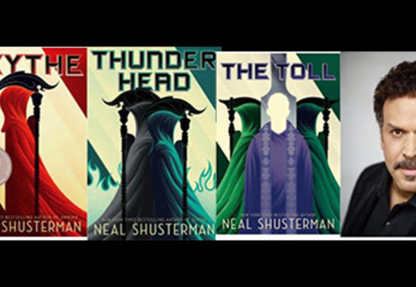 Author Neal Shusterman Visit Postponed