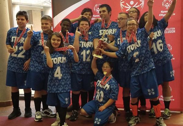 D128 Special Olympics Floor Hockey Team