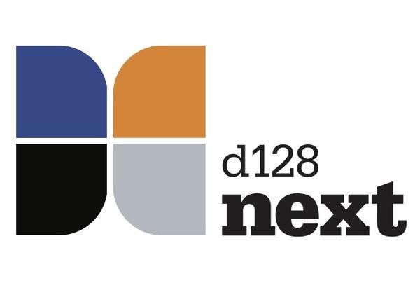 d128 next logo