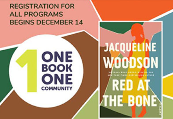 Join us for One Book, One Community