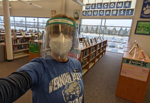 VHHS Librarian Ms. Tolva
