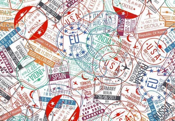 Passport Stamp Image