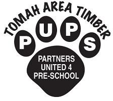 Tomah Area Timber PUPS logo