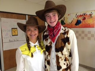 woody and sandy