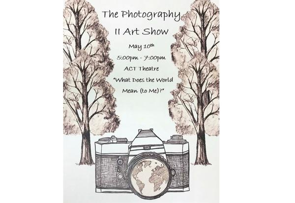 Photography Art Show advertisement