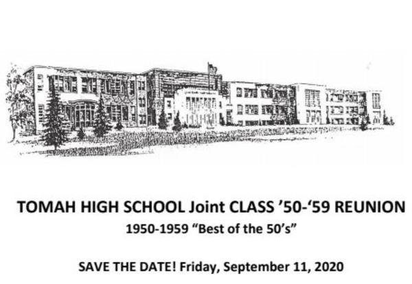 Class Reunion for  Graduating Classes of 1950-1959