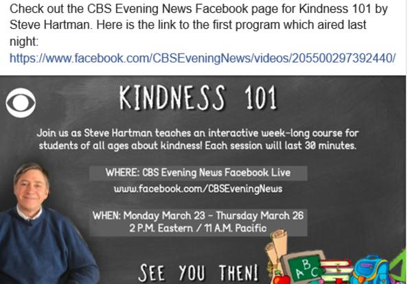 Kindness 101- Free Lessons for Kids