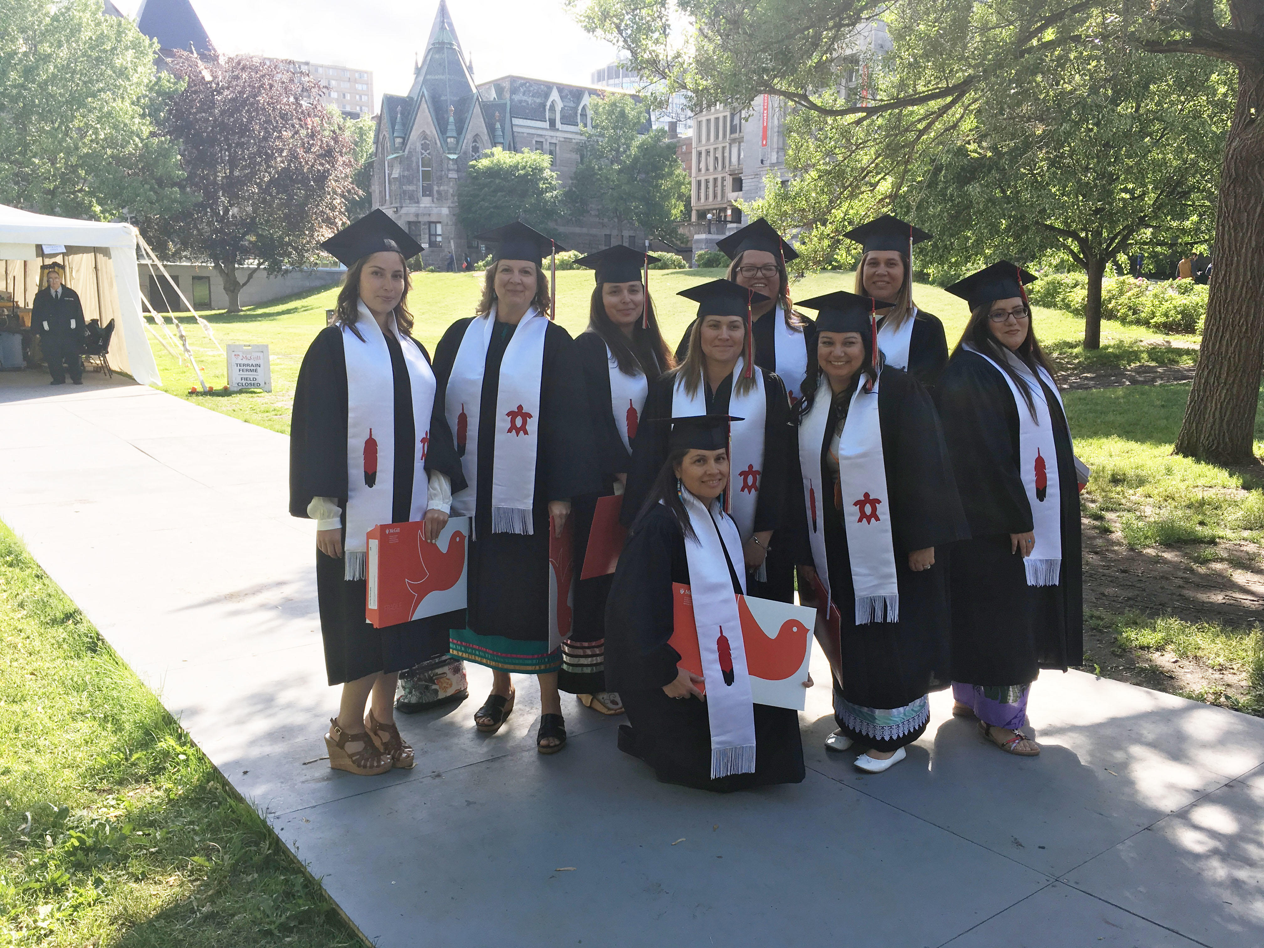 McGill Certificate in First Nations and Inuit Education Graduates 2017