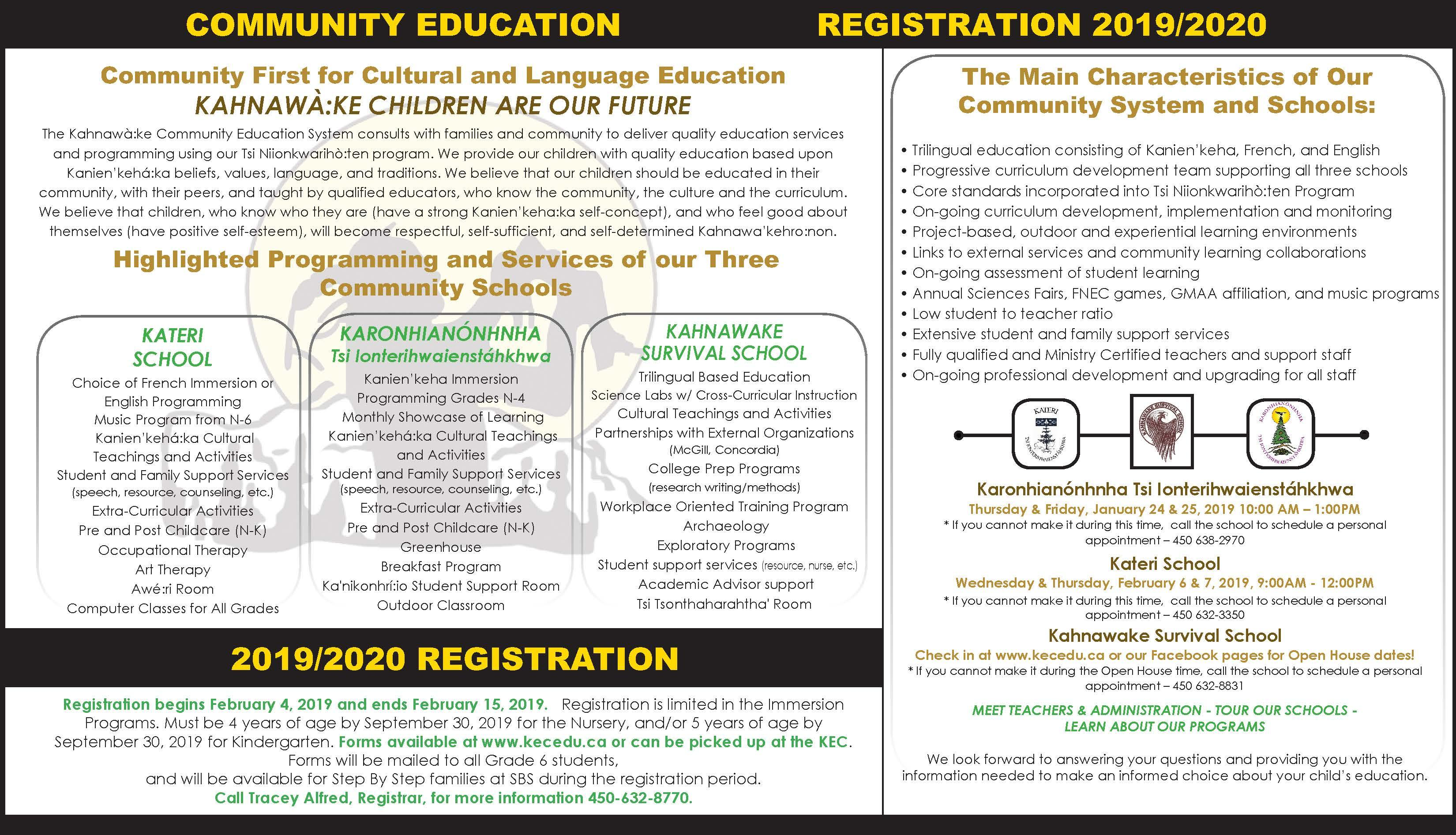 Registration & Application Forms | Student Services
