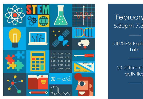NIU STEM Lab Exploration! 20 different STEM activities!