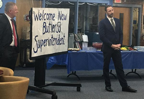 Dr. Paul O'Malley Named New Superintendent