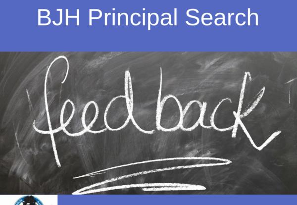 Results Published on BJH Principal Search