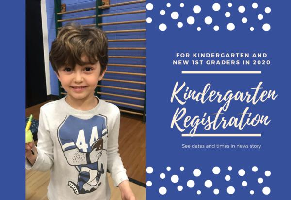 Kindergarten registration for 2020-21