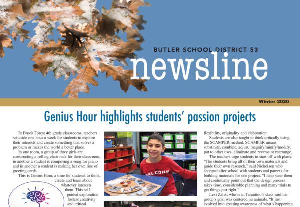 Winter Newsletter Published