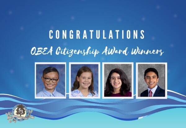 Butler students earn Citizenship Award