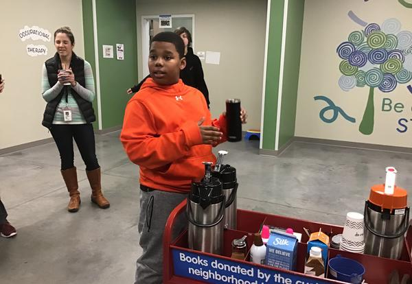 Community, Cause, and Coffee Cart: Service Learning at Spero Academy