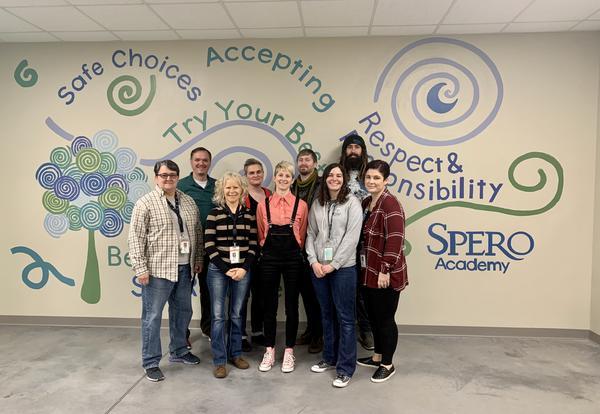 Mentorship at Spero Academy
