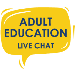 Live Chat - Adult Education