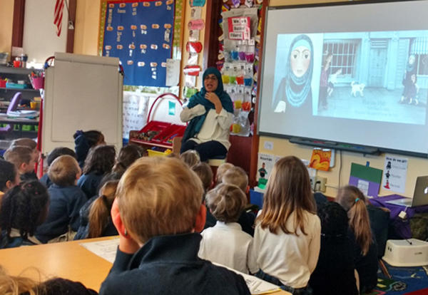 A Visit from Author Hena Khan