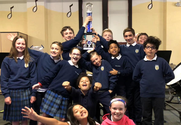Concert Band Wins First Place At Music In The Park Festival