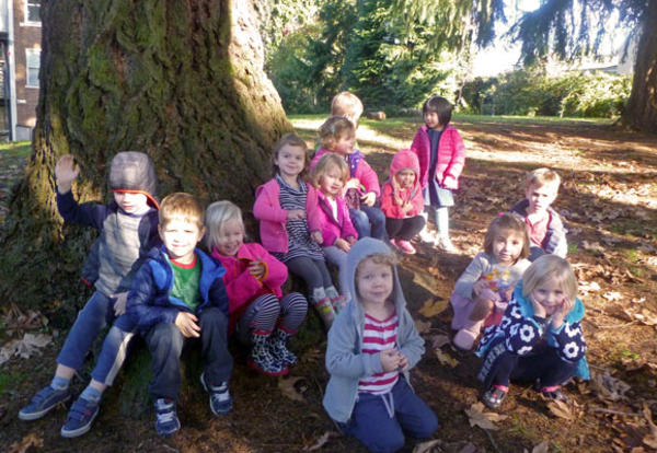 VILLA'S FOREST FRIDAYS FOR 3-YEAR-OLDS