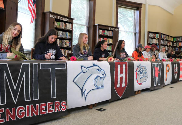 Villa Alums College Signing Day