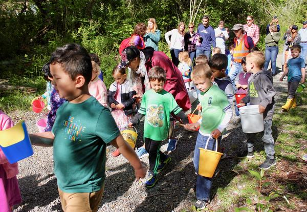 Preschoolers Lead First Annual 'Water for Life' Walk