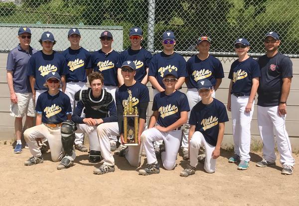 Boys Baseball Team Wins the CYO Championship