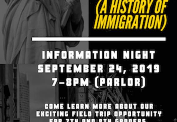 Middle School Students Head to NYC to Study Immigration History